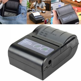 YOKO 58HB-4 Portable Bluetooth Wireless Receipt Thermal Desktop Printer for Android and IOS US Plug Black