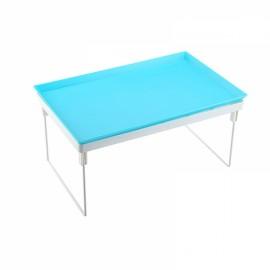 Multifunction Kitchen Bathroom Detachable Shelf Storage Rack Drain Rack Lazy Tables Rack Blue