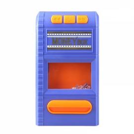 Creative Design Cartoon Piggy Bank Money Box Simulation Cash Grinders Saving Cash Box Music Shredder Piggy Bank Purple