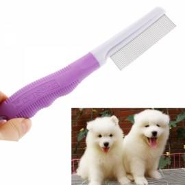 Purple Flea Comb for Dog Cat Pet