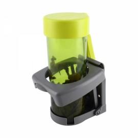 Universal Car Folding Beverage Drink Bottle Cup Mount Holder Stand Gray