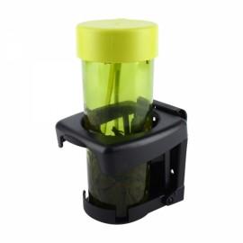 Universal Car Folding Beverage Drink Bottle Cup Mount Holder Stand Black