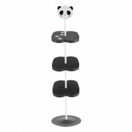 Children Cartoon Animal Pattern Stand Style Shoe Rack  - Panda