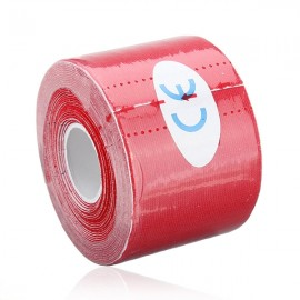 Kinesiology Muscle Care Tape Athletic Therapeutic Sports Tape Bandage 5cm x 5m Red