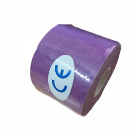 Kinesiology Muscle Care Tape Athletic Therapeutic Sports Tape Bandage 5cm x 5m Purple