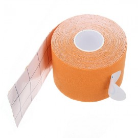 Kinesiology Muscle Care Tape Athletic Therapeutic Sports Tape Bandage 5cm x 5m Orange