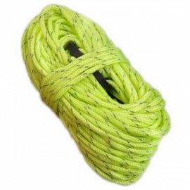 4pcs NatureHike Windproof Fluorescent Reflective Tent Rope Guy Rope for Camping Hiking 4m*4 Green