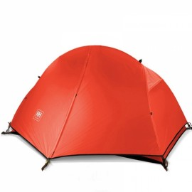 Naturehike Aluminum Pole Waterproof Single Person Tent for Outdoor Sports Red