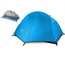 Naturehike Aluminum Pole Waterproof Single Person Tent for Outdoor Sports Blue