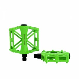 BaseCamp MTB Bicycle Pedal Road Bike Slip-resistant Ultra-light Aluminum Alloy Ball Bearing Green