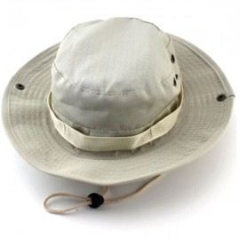 Tactical Combat Camo Hiking Fishing Cap Outdoor Army Sun Block Hat Beige