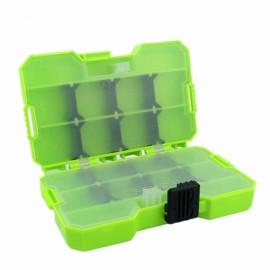 JAKEMY JM-PJ2002 Plastic Storage Box Adjustable Organizer Accessories Box Green