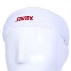 Aolikes Outdoor Sports Exercise Breathable Elastic Sweat Headband White