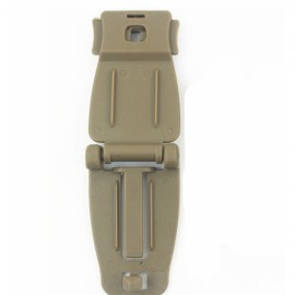 Molle Tactical Backpack Strap Webbing Connecting Buckle Clip Tan