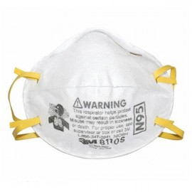 3M 8110S N95 Particulate Respirator Small Size for Children White