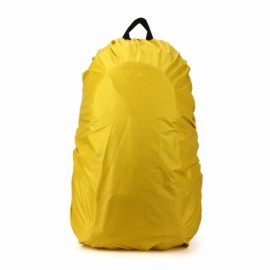 Outdoors 30L-40L Backpack Cover Luggage Dustproof Waterproof Protector Yellow