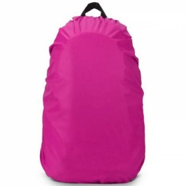 Outdoors 30L-40L Backpack Cover Luggage Dustproof Waterproof Protector Rose Red