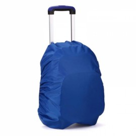 Outdoors 30L-40L Backpack Cover Luggage Dustproof Waterproof Protector Blue