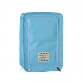 Multifunctional Travel Wash Cosmetic Makeup Bag Shoes Storage Bag Sky Blue