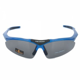 Free Soldier ZYB0091d TR90 Frame PC Lens UV400 Outdoor Sports Polarized Sunglasses Blue