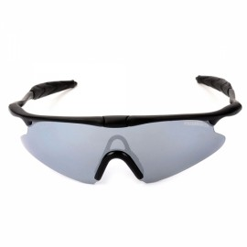 Free Soldier FS-YJ96 SWAT UV400 Protection Men's Sports Goggles Sunglasses Black