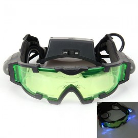 High Quality Portable Anti-Slip Night Vision Goggle with Flip-Out Lights Green Lens for Outdoor Emergency Use