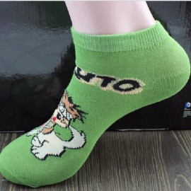 Cute Japan Anime Naruto Socks Uzumaki Naruto Print Cotton Socks #5 Inuzuka Kiba & Akamaru