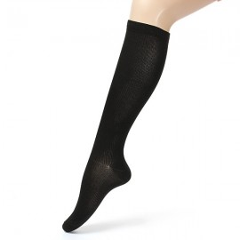 Compression Socks Varicose Vein Stocking Anti Fatigue Sports Knee Relief Travel Support Black L/XL