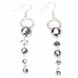 Sparkling Beads Chain Earrings