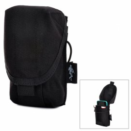 Free Soldier XKQWB38 Multi-functional Cordura Tactical Waist Pack with Cap Black