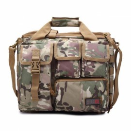 Outdoor Sport Laptop Camera Mochila Men Messenger Bag Travel Tactical Multifunction Bag CP Camouflage
