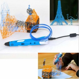 First Generation 3D Printing Pen with ABS Filament Blue