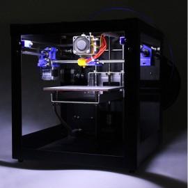 Geeetech 3D Printer Assembled Me Creator Mini Desktop Kit with 2004 Display Black