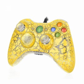 USB Wired Game Controller Joystick Gamepad for Xbox 360 Yellow