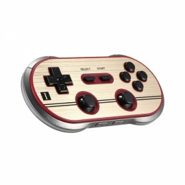 Wireless Bluetooth Controller Bluetotoh 3.0 Gamepad Multi Working Mode Game Console for iOS Android PC Mac Linux Red & Sliver