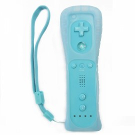 Wireless Remote Controller for Nintendo Wii / Wii U Light Blue