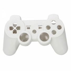 Replacement Protective Shell Case for PS3 Controller White