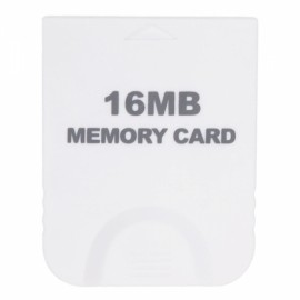16MB Memory Card for Nintendo Wii White