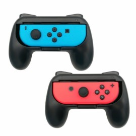 2 Pack For Nintendo Switch Joy-Con Handle Controller Grip Gaming Handheld Holder -Blue&Red