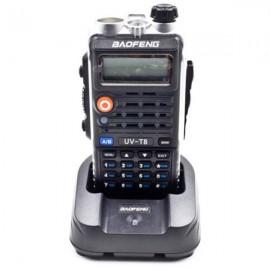 BAOFENG UV-T8 Dual Band Handheld Transceiver Radio Walkie Talkie Black