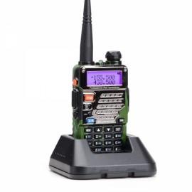 Baofeng UV-5RE Dual Band Two way Handheld Walkie Talkie UK Plug Camouflage