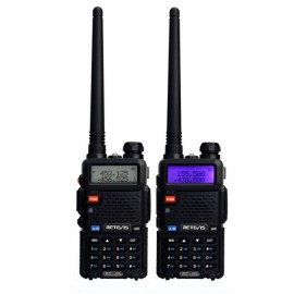 2pcs Retevis 5R 128 CH Transceiver Portable Set Radio Communication Walkie Talkie