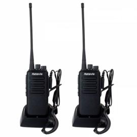 2pcs Retevis RT1 Two Way Radio 10W 16 Channel UHF 400-520 MHz Walkie