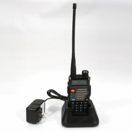 Bao Feng 5R+ Plus Upgraded Ultra Clear Dual-band Long Distance Walkie Talkie Black