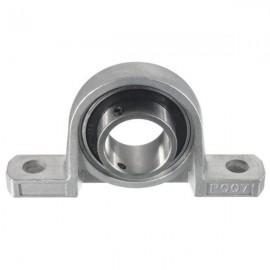 35mm Bore Diameter Zinc Alloy Pillow Block Mounted Ball Bearing KP007