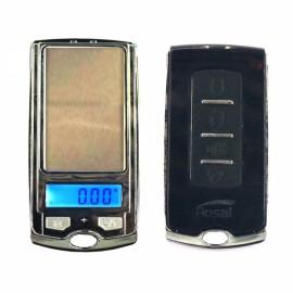 100g/0.01g Car Key Mini Pocket Jewelry Scale Black