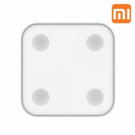 Original Xiaomi Bluetooth 4.0 LED Smart Body Fat Scales with BMI Data Analysis Weight Tools White