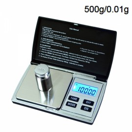 DS-08 500g/0.01g Portable Jewelry Scale