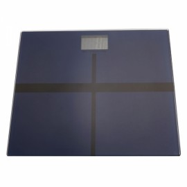 2015C 180KG /100G High Strength Toughened Glass 4-Digits LCD Display Electronic Weighting Scale Navy