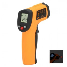 BENETECH GM300 -50-380 1.2 LCD Digital Infrared Thermometer w/ 9V Battery